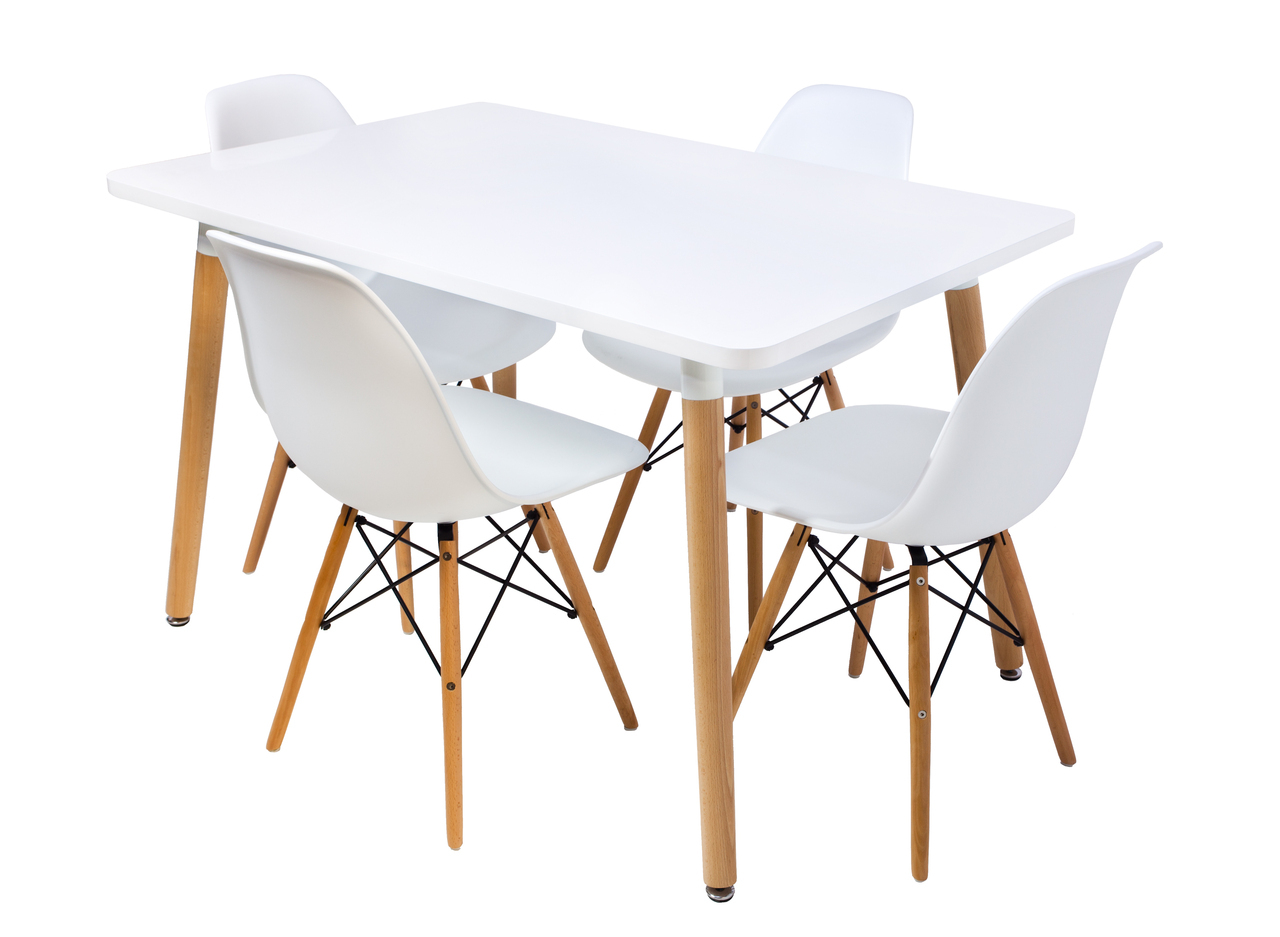 Samma home set comedor eames jednina 4 sillas eames for Set sillas comedor